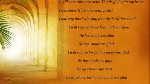 i will enter his gates with thanksgiving