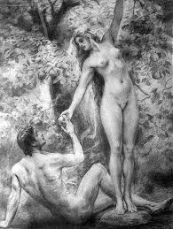 by emil holarek 1867 1919 czech adam and eve eve handing adam
