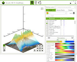 Isoline Map 2d And 3d Wlan Coverage Map Software And Network Isolines