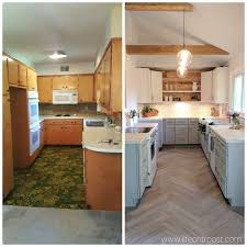 Before And After Pictures Of Painted Kitchen Cabinets Best 25 Before After Kitchen Ideas On Pinterest Before After