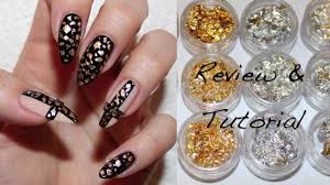 bornprettystore com review and nail tutorial nail foils youtube