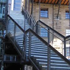 image outdoor metal stair railing systems how to design