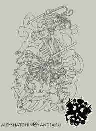 image detail for samurai outline by totalnol designs interfaces