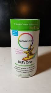 rainbow light kids one rainbow light kids one multistars fruit punch 90 chewable tablets ebay