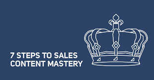 7 steps to sales content mastery sales hacker
