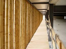 parkhausfassade zoo leipzig bauen mit bambus referenzen