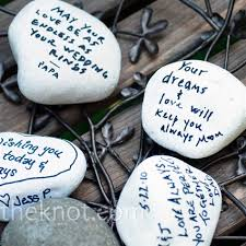 wishing rocks for wedding well wishes rocks housewarming party party ideas