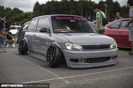 evo stance stance and negative camber might be an extreme example but i like