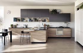 cuisine contemporaine en bois cuisine contemporaine bois des cuisines modernes pinacotech