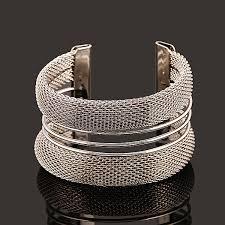 cuff bracelet jewelry images Fashion women 39 s vintage gold silver bangle punk cuff bracelet jpg