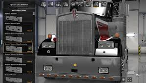 kenworth dealer extra bumpers for kenworth w900 mod american truck simulator mod