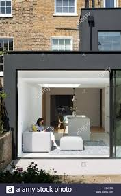 exterior of rear extension private residence london united