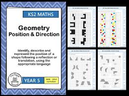 year 5 reflection and translation geometry position and
