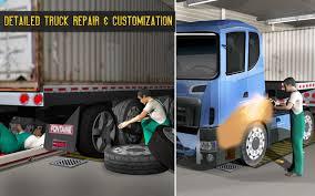 superheroes trucks car garage monster usa truck mechanic garage 3d sim auto repair shop android apps