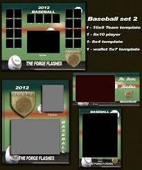 baseball digital photo template sports template storyboards