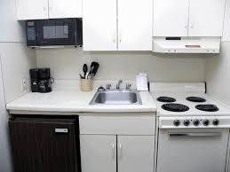modern condo kitchen design steel stove vintage dark brown