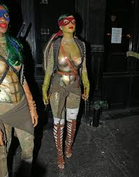 rihanna at opus nightclub halloween party in new york hawtcelebs