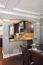 Kitchen Living Space Ideas Like The Way The Kitchen Is Divided From The Living Room But Still