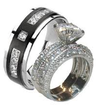 wedding ring set for him and bridal sets engagement rings sears