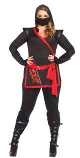 Halloween Costumes Women Size Women U0027s Size Ninja Assassin Costume Costumes