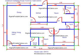 3 Bedroom House Plans Free Free Shipping Container House Plans Nigeria Download Container