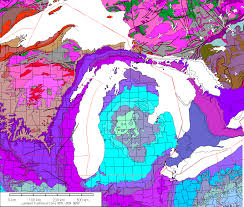 Michigan Counties Map by Gravity And Magnetic Maps Of Michigan