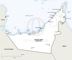 Emirates Route Map by Vector Map Of United Arab Emirates Political United Arab Emirates