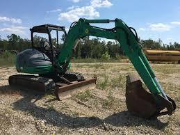 2007 jcb 8052 midi hydraulic excavator florida truck u0026 equipment