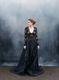 black wedding dress 30 of the most stunning black wedding dresses chic vintage brides