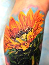 20 sunflower tattoos tattoofanblog