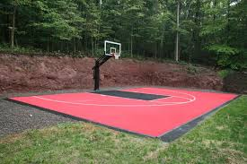 innovative ideas outdoor basketball court cost beauteous best