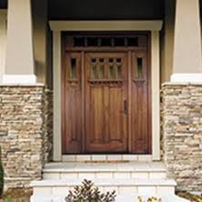 Wood Exterior Door Pella Doors Pella