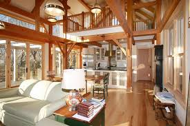Timber Frame Home Interiors A Conversation With Tedd Benson About The Road From Fine Carpenter