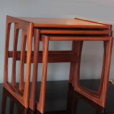 vintage teak nesting tables from g plan set of 3 for sale at pamono
