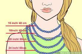 necklace neck sizes images How to measure a necklace 15 steps with pictures wikihow jpg