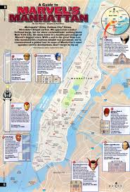 Map Of Lower East Side New York by 15 Marvel Infographics To Help You Better Understand The Mcu