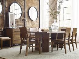 traverse brown cutler dining table from kincaid furniture