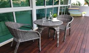astounding 2 wicker chairs and round table balcony furniture ideas