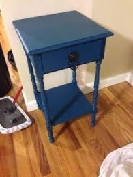 painted end table behr peacock tail i love the color