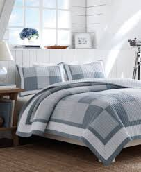 Chambray Duvet Closeout Nautica Chambray Twin Quilt Bedding Collections Bed