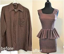 11 innovative ways to repurpose old clothes peplum dresses