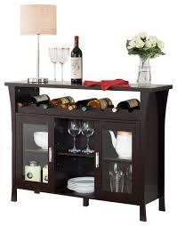 sideboards astonishing wine rack buffet sideboard with mini