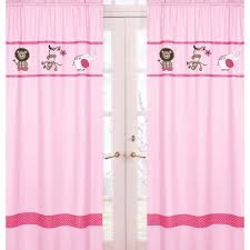 Jungle Nursery Curtains by Threshold Banded Faux Silk Curtain Panel 10609 Agreatertown