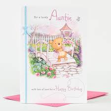 birthday card special aunty only 99p