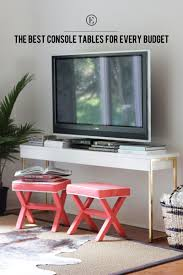 Console Table For Living Room by Console Tables For Every Budget The Everygirl