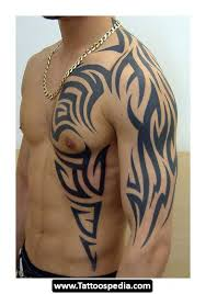 tribal rib cage tattoos 02