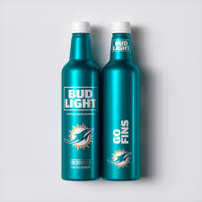 bud light aluminum bottles nfl nfl fans rejoice this special edition beer was made for you the