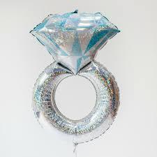 engagement ring uk engagement party balloon diamond ring balloon uk pretty
