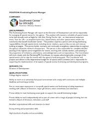 awesome collection of conference manager cover letter also resume