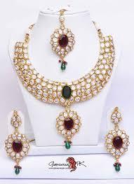gold set in pakistan best 25 jewelry ideas on indian bridal
